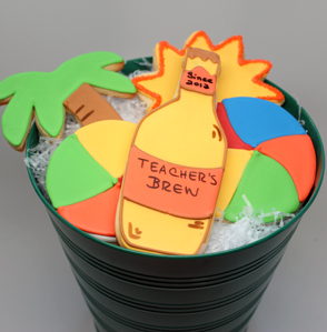 Teacher Summer Cookies