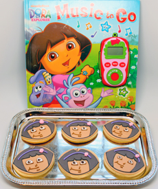Dora the Explorer Cookies