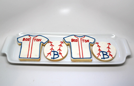 Boston Red Sox Cookies