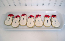 Frost the Snowman Cookies