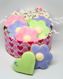 Hearts & Flowers Tin